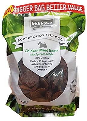 Sales Tradings Limited Irish Rover Superfoods for Dogs, Chicken, 1 kg, brown