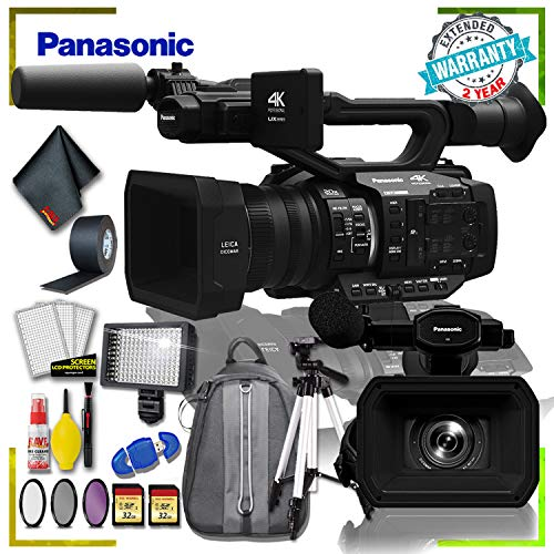 Purchase Panasonic AG-UX180 4K Premium Professional Camcorder (International Model) + Padded Backpac...