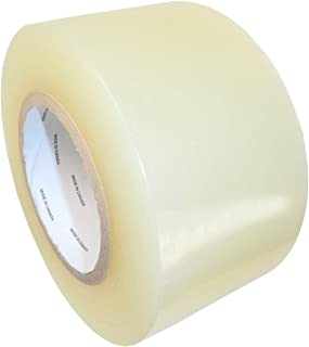 "T.R.U. LDPE Heavy-Duty Greenhouse Polyethylene Repair Weatherseal Film Tape. Long Term UV Exposure Ideal for Sealing and Seaming. Multiple Sizes Available (Clear, 2"" X 36 Yards)"