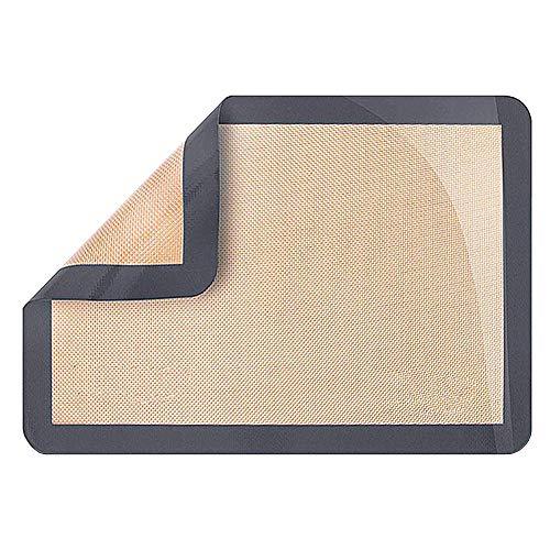 MEISISLEY Tapis de Cuisson Tapis Cuisson De Silicium plaques à pâtisserie Plaque à pâtisserie antiadhésive Plaques à pâtisserie Non bâton réutilisable
