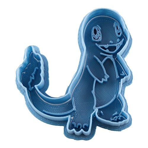 Cuticuter Pokémon Charmander Keksausstecher, Blau, 8 x 7 x 1,5 cm