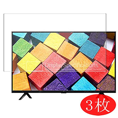 【3 Pack】 Synvy Screen Protector for 31.5' Xiaomi Mi TV E32A / 4A Pro 32 / 4S 32 / 4C 32 / 4C Pro 32 / 4A 32 TV TPU Flexible HD Film Protective Protectors [Not Tempered Glass]