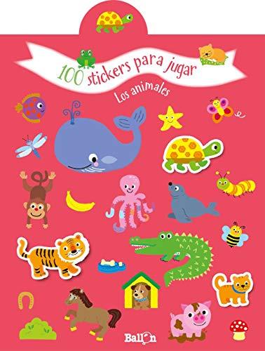 100 stickers para jugar los animales