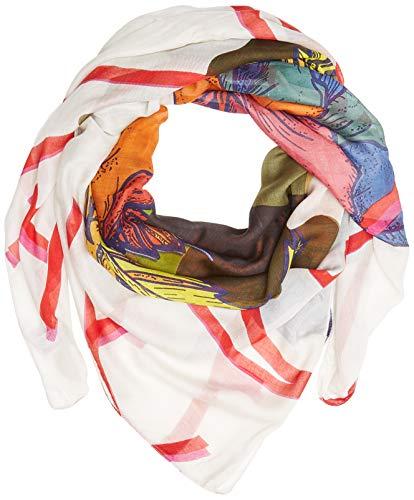 Camel Active Womenswear 307500 Pañuelo, Multicolor (Ecru Printed Multicolour 05), Talla única...