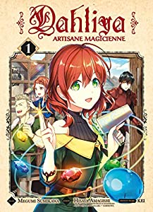 Dahliya, artisane magicienne Edition simple Tome 1