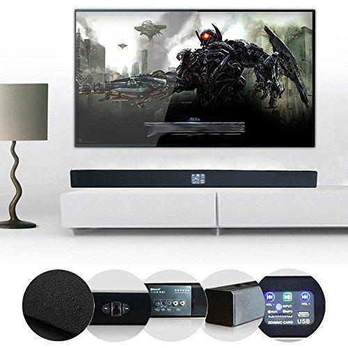 Smart TV Barre De Son Écho Mur Son Bluetooth 5.1 Home Cinéma Cristal Liquide Salon sans Fil