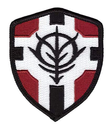 Titan One Europe - Gundam Zeon Principality Flagge Schild Aufnäher Aufbügler