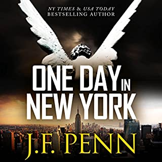 One Day in New York     An ARKANE Thriller, Book 7              By:                                                                                                                                 J. F. Penn                               Narrated by:                                                                                                                                 Jeffrey Kafer                      Length: 2 hrs and 25 mins     5 ratings     Overall 3.6
