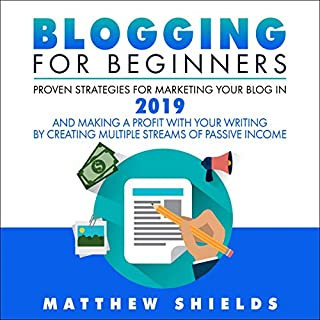 Blogging for Beginners cover art
