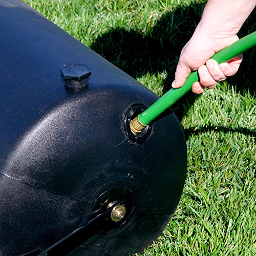 Brinly PRC-24BH 270-Pound Combination Push/Tow Poly Lawn Roller, 18 by 24-Inch