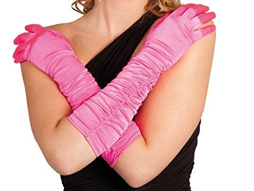 Boland 03028 - Handschuhe Hollywood, Einheitsgröße, pink