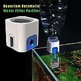自動給水器水足しくん アオハウオ(AWHAO) 自動給水器 差圧の原理 自動給水 熱帯魚 給水フロート アクアリウム用品 メンテナンス 観賞魚 飼育 約36 36 35mm