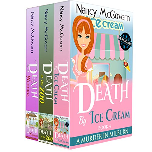 A Murder In Milburn Box Set 2, Books 4-6     A Culinary Cozy Mystery Box Set With Recipes              By:                                                                                                                                 Nancy McGovern                               Narrated by:                                                                                                                                 Renee Brame                      Length: 14 hrs and 20 mins     1 rating     Overall 5.0