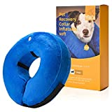 Yeuca Dog & Cat Inflatable Collars & Cones, Soft Pet Recovery Collar...