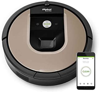 iRobot Roomba 966 Robotic Automatic Vacuum Cleaner - Black, Gold