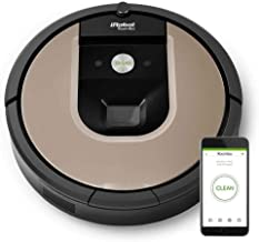 iRobot Roomba 966 Robotic Automatic Vacuum Cleaner - Black, Gold