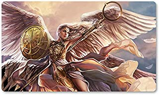 Linvala, The Preserver - Board Game MTG Playmat Table Mat Games Size 60X35 cm Mousepad Play Mat for Yugioh Pokemon Magic The Gathering