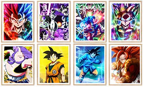 Manga Anime Fan Art Poster Fighter Fabric Paper Art Prints