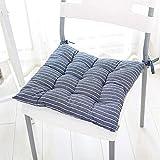 BESTPRVA Silla Gruesos Cojines for sillas de Comedor multifunción Suave Asiento Plaza Amortiguador amortiguadores Ideal for el hogar Oficina de la Escuela ergonómico