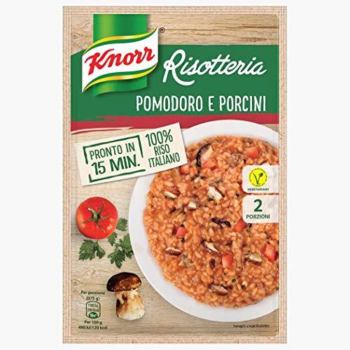 6x Knorr Risotto Tomaten und Steinpilze Reis 175g 100% italienisch Fertiggerichte