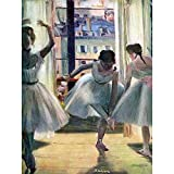 Wee Blue Coo Edgar Degas Three Dancers A Practice Room Old