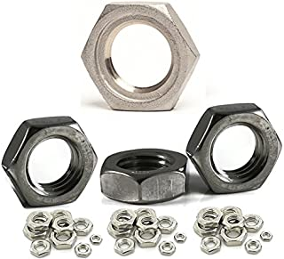 2pcs M14 X 1.5MM A2 STAINLESS STEEL FINE PITCH HEXAGON FULL NUTS HEX NUT