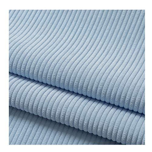 yankai Fabulous Fabrics Samt Petrol, Stoff Samt Cord Einfarbig Cord Hemd Hemd Einfarbige Baumwolle Jacke Hose Sofa Breite 150cm NIU