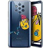 Caseink Coque pour Nokia 9 PureView (6) [Licence Officielle Collector Les Shadoks® Design Einstein...