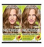 Garnier Hair Color Nutrisse Nourishing Creme, 72 Dark Beige Blonde (Sweet Latte), 2 Count