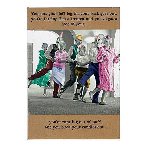 Blow Your Kerzen Out–Pigment–Happy Birthday Karte.