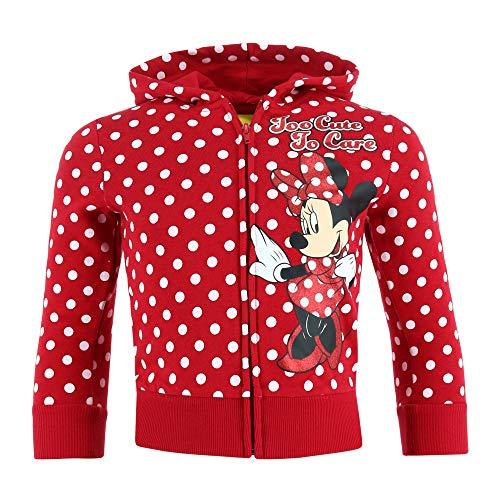 Jerry Leigh Kapuzenpullover mit Reißverschluss für Mädchen, Minnie Mouse,...