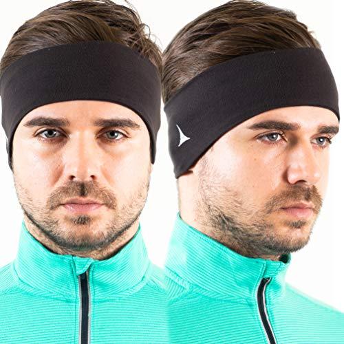 Fleece Ear Warmers/Muffs Headband for Men & Women - Winter Fleece Ear Cover