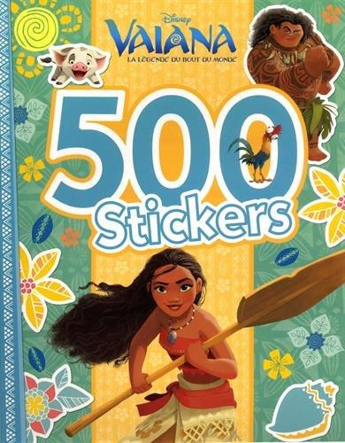 VAIANA - 500 Stickers
