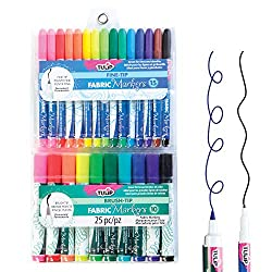 LOT 3 Singer Quilt Pro Disappearing Fabric Marking Pens Pink /& Blue 2 packs NEW