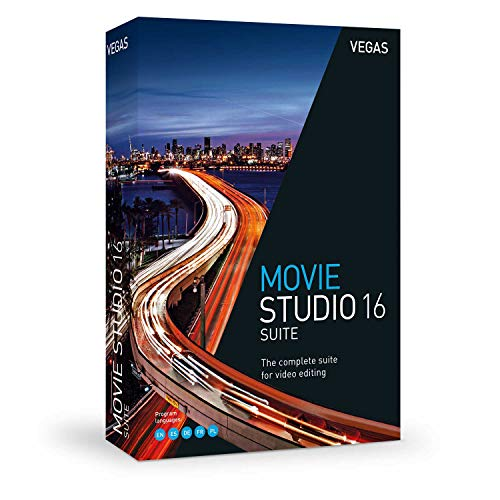 VEGAS Movie Studio 16 Suite|Standard|1 Device|Perpetual License|PC|Disc|Disc