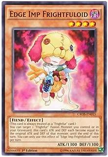 Yu-Gi-Oh! English Version CROS-EN 015 Edge Imp Frightfuloid Edge Inp E DT Moduki (Normal) 1st Edition