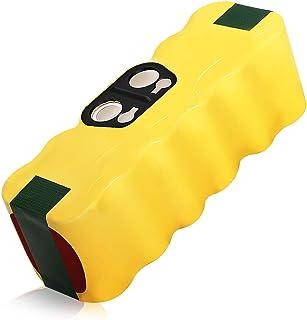 Bsioff 14.4V 4500mAh Ni-MH Aspiradoras de repuesto Batería para iRobot Roomba 500 600 700 800