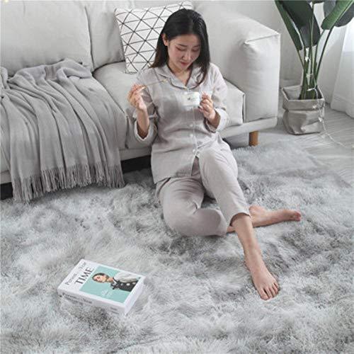 Europese lang haar mode slaapkamer tapijt erker bed mat wasbare persoonlijkheid deken kleurverloop woonkamer tapijt, 5,40x60cm