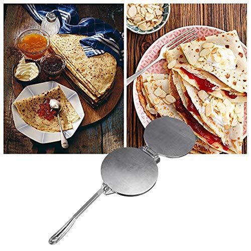Ingeniously 20 cm Tortilla Maker Aluminium Tortilla Press, Mehl Tortilla Press, Teigpresse, Antihaft-Kochplatten Hochleistungs-Restaurantwerkzeug für Chapati, Fladenbrot