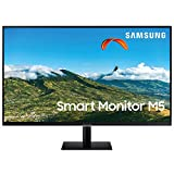 "Samsung Monitor LS27AM502NUXEN M5 da 27"", 16:9, Full HD, TV Smart Hub (Amazon Video, Netflix),..."