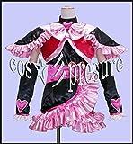 374 【cos-presure】ふたりはプリキュア キュアブラック 風衣装◆コスプレ