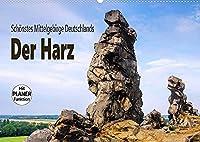 Der Harz - Schoenstes Mittelgebirge Deutschlands (Wandkalender 2022 DIN A2 quer): Eine Bilderreise durch den Harz (Geburtstagskalender, 14 Seiten )