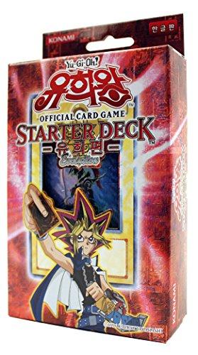 Yu-Gi-Oh! Konami Yugioh Cartes TCG OCG 50 Cartes Deck de Démarrage: Yugi Évolution Corée