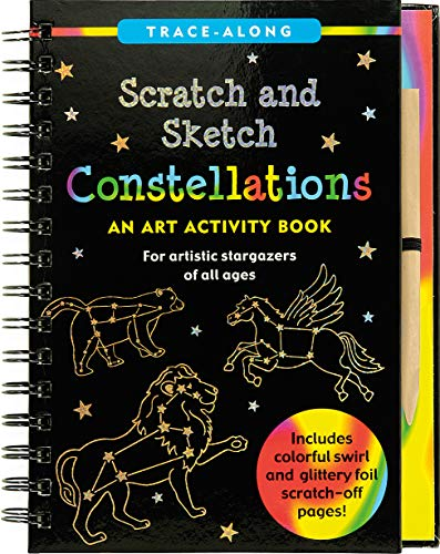 Constellations Scratch & Sketch: An Art Activity Book, for Artistic Stargazer of All Ages