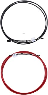 SM SunniMix 2 Pcs 080 Series Type Boat Marine Throttle /& Shift Control Cable for Yamaha Outboard 8 FT