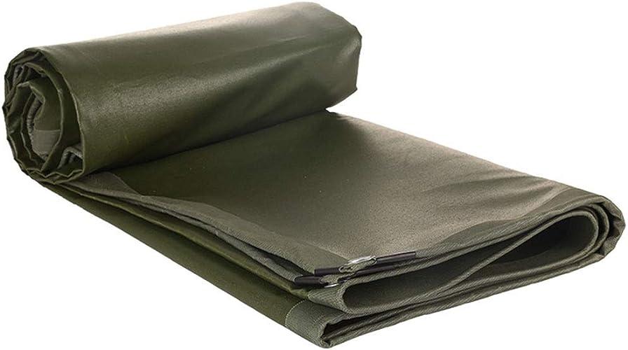 HU Bache de Prougeection Verte Contre Le Soleil et la Pluie, bache de Transport en Plein air, épaisseur de Tissu 0,6 mm, Options de Multi-Taille (Taille   2x3m)