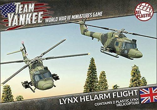 precios al por mayor Equipo Equipo Equipo Yankee Británico Lynx helarm vuelo (2 FIGURAS, tbbx05)  perfecto