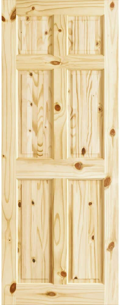 Colonial Six Ranking TOP19 Panel Knotty Pine Passage Max 69% OFF Door 24