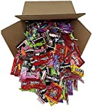 Assorted Bulk Candy, Individually Wrapped: 5 LB Box Variety Pack with Tootsie Rolls, Tootsie Pops, Assorted Laffy Taffy's, Nerds, Dots, Twizzlers, Assorted Jolly Rancher & More! Great for Holiday and Party Treats