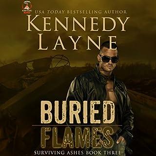 Page de couverture de Buried Flames